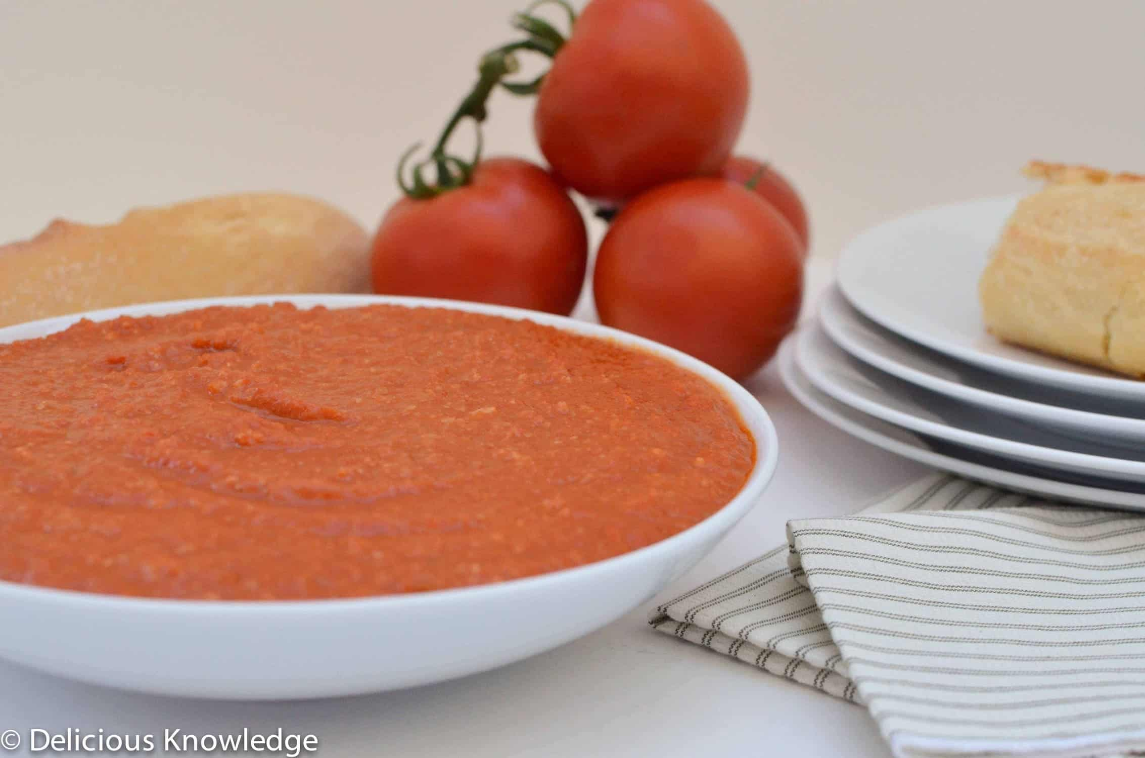 Spanish Romesco Sauce! A smoky dip that you will be making again and ...